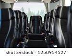 Bus Interior In Bokeh Effect