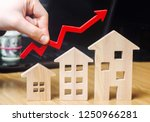 the concept of real estate... | Shutterstock . vector #1250966281