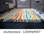 important documents in the... | Shutterstock . vector #1250969047