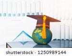 education graduate study... | Shutterstock . vector #1250989144