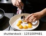 food shrimps lamb chops and... | Shutterstock . vector #1251009481
