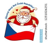 happy new year czech republic   ... | Shutterstock .eps vector #1251026251