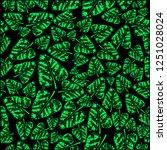 seamless pattern abstract fresh ... | Shutterstock .eps vector #1251028024