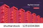 isometric cartoon technology... | Shutterstock .eps vector #1251034384