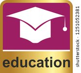 education icon for web and... | Shutterstock .eps vector #1251052381