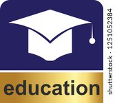 education icon for web and... | Shutterstock .eps vector #1251052384