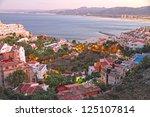 cullera beach valencia spain | Shutterstock . vector #125107814