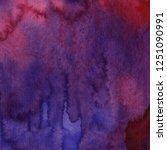 bright purple watercolor...   Shutterstock . vector #1251090991