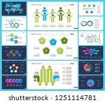 business inforgraphic design... | Shutterstock .eps vector #1251114781