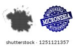 geographic collage of dot map... | Shutterstock .eps vector #1251121357