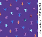 seamless creative pattern.... | Shutterstock .eps vector #1251194884