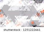 seamless urban geometric grunge ... | Shutterstock .eps vector #1251222661