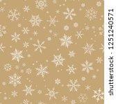 white spot snow flake tracery...   Shutterstock .eps vector #1251240571