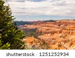 sunset point bryce canyon... | Shutterstock . vector #1251252934