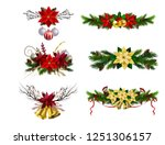 christmas elements for your... | Shutterstock .eps vector #1251306157