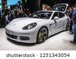 frankfurt   sept 2015  porsche... | Shutterstock . vector #1251343054