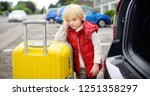tired toddler boy ready for... | Shutterstock . vector #1251358297
