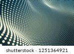 abstract polygonal space low... | Shutterstock . vector #1251364921