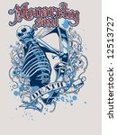 vector t shirt design. | Shutterstock .eps vector #12513727