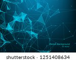 abstract 3d technology... | Shutterstock .eps vector #1251408634
