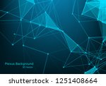 geometric graphic background... | Shutterstock .eps vector #1251408664