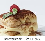 italian tiramisu | Shutterstock . vector #125141429