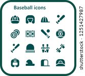 vector icons pack of 16 filled...   Shutterstock .eps vector #1251427987