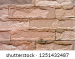 stone background  sand wall... | Shutterstock . vector #1251432487