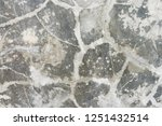 cracked stone wall  textured... | Shutterstock . vector #1251432514