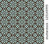 ornamental seamless pattern.... | Shutterstock .eps vector #125145995