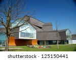 Small photo of WEIL AM RHEIN, GERMANY - APRIL 12: Vitra House designed by Herzog and de Meuron on April 12, 2011. The Vitra Design Museum is an internationally renowned, privately owned museum for design.