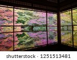 autumn vibes in kansai  kyoto... | Shutterstock . vector #1251513481