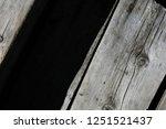 dark wood on the floor  | Shutterstock . vector #1251521437