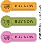buy now web labels for shopping ... | Shutterstock .eps vector #125153621
