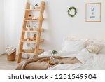 new year winter home interior... | Shutterstock . vector #1251549904