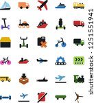 vector icon set   truck vector  ... | Shutterstock .eps vector #1251551941