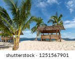 beautiful view at black island  ... | Shutterstock . vector #1251567901