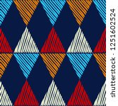 trendy seamless pattern designs.... | Shutterstock .eps vector #1251602524