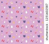 Sailor Moon Pattern