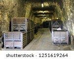 france. alsace. old cellar for... | Shutterstock . vector #1251619264