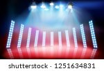 runway show. place for the... | Shutterstock .eps vector #1251634831