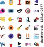 vector icon set   joystick... | Shutterstock .eps vector #1251640597