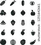 solid black vector icon set  ... | Shutterstock .eps vector #1251642661