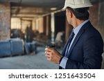 waist up portrait of architect... | Shutterstock . vector #1251643504