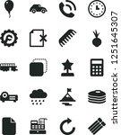solid black vector icon set  ...   Shutterstock .eps vector #1251645307