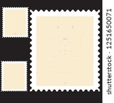 postage stamps in grunge style. ... | Shutterstock .eps vector #1251650071