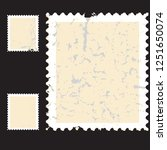 postage stamps in grunge style. ... | Shutterstock .eps vector #1251650074