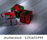 close up view  of  gift boxes ... | Shutterstock . vector #1251651994