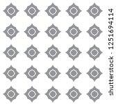 seamless geometric ornamental... | Shutterstock .eps vector #1251694114