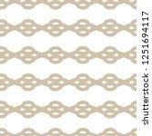 seamless geometric ornamental... | Shutterstock .eps vector #1251694117